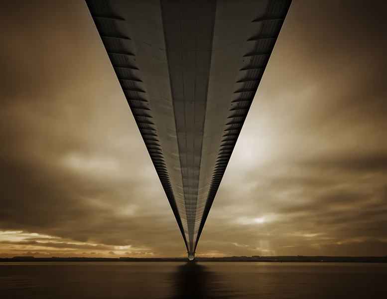 photoblog image The Humber Bridge.